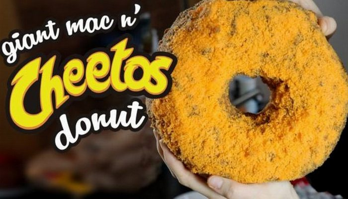 Необычно и вкусно: пончик Mac n
