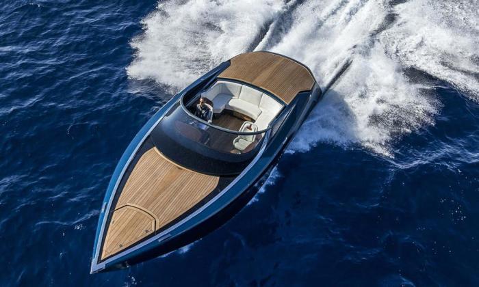 Стильная яхта. /Фото: steemit.com.