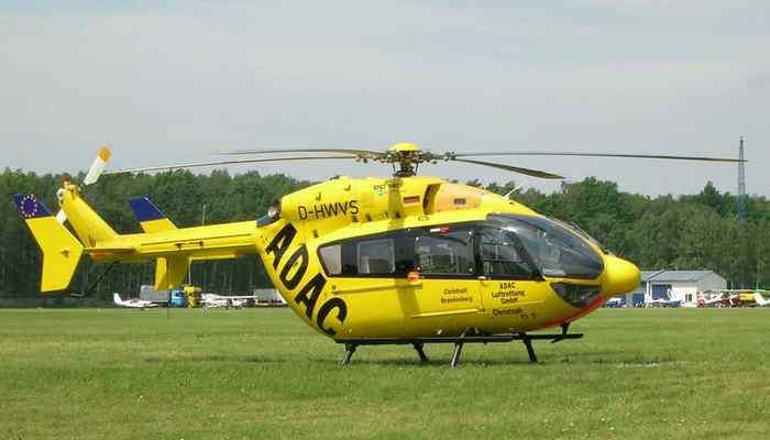 Вертолет «Eurocopter EC145».