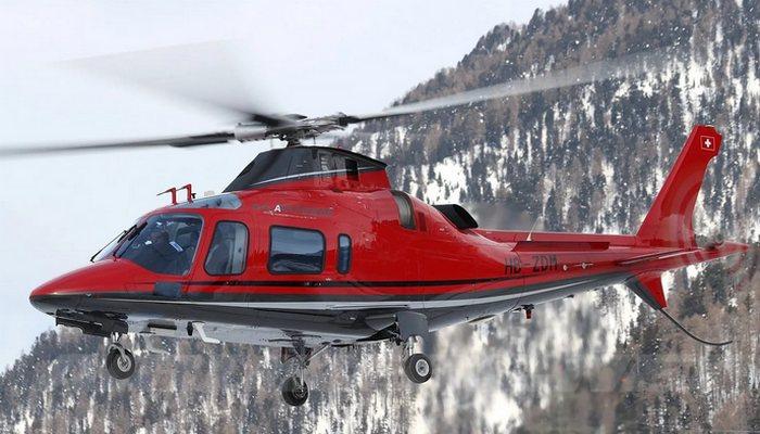 Вертолет «AgustaWestland AW109».