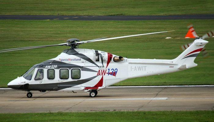 Вертолет «AgustaWestland AW139».