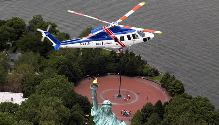 Вертолет «Sikorsky S-76C».