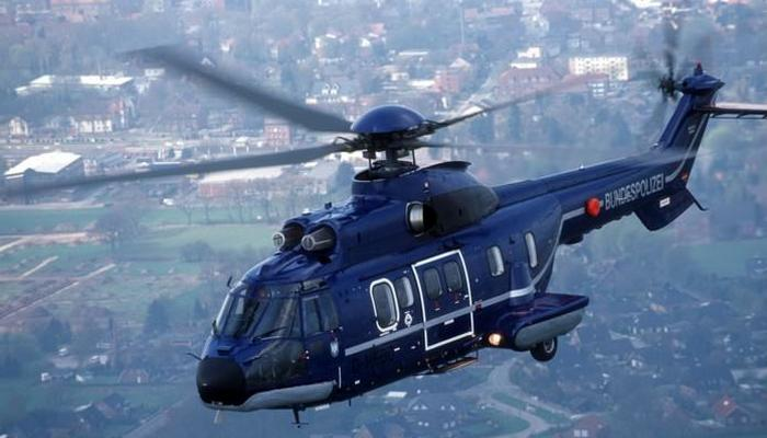 Вертолет «Airbus AS332 L1e VIP Super Puma».