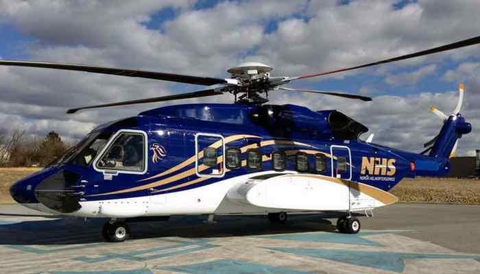 Вертолет «Sikorsky S-92».