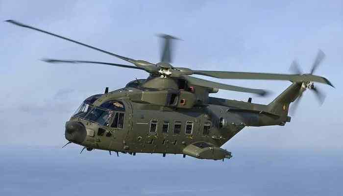 Вертолет «AgustaWestland AW101».