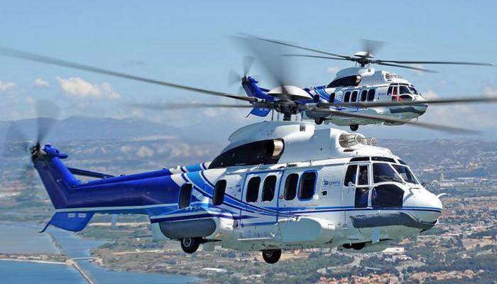 Вертолет «Airbus H225 Super Puma».