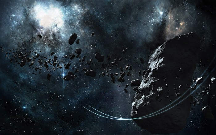 Пояс астероидов.