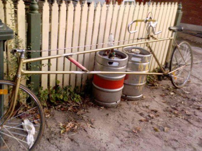 Велосипед-лимузин.