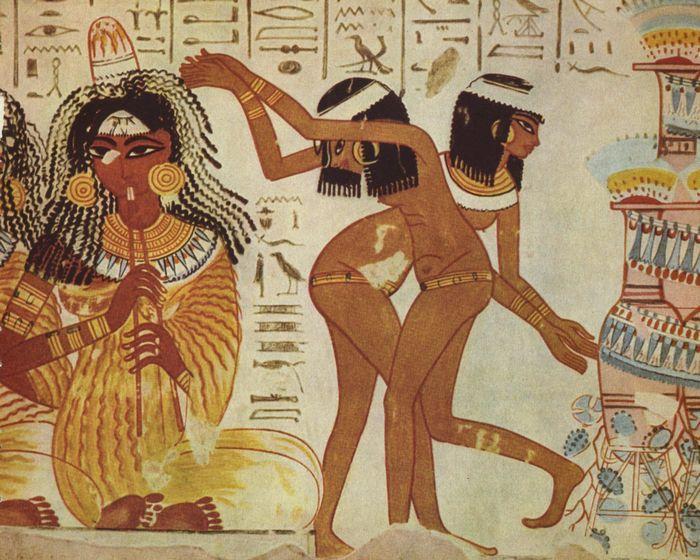 Египетский макияж.