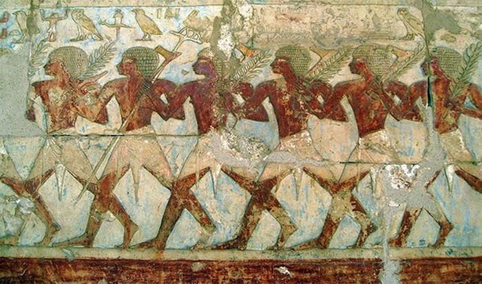 Египетские хвостики.