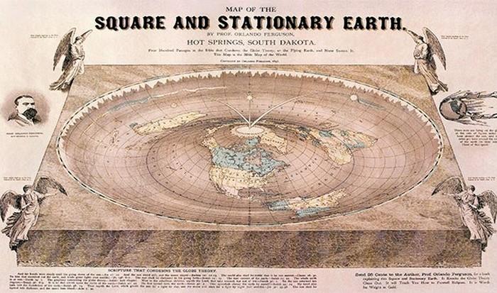 Земля плоская и круглая.