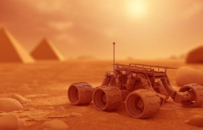 Пирамиды Марса.