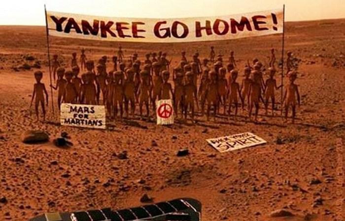 Провал колонизации Марса.