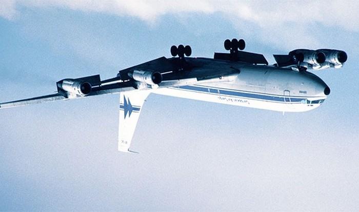 Бочка на Боинг 707.