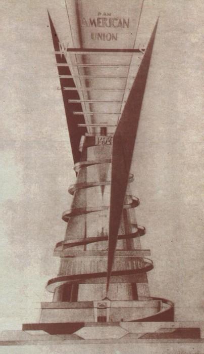 Памятник Колумбу Константина Мельникова.
