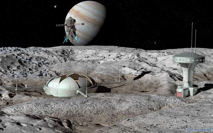 Лунная база Звезда.