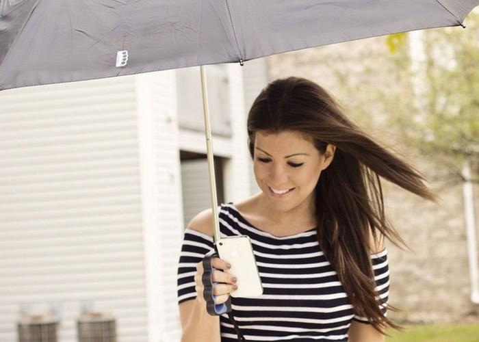 Безумный гаджет: зонтик Brolly Texting Umbrella.