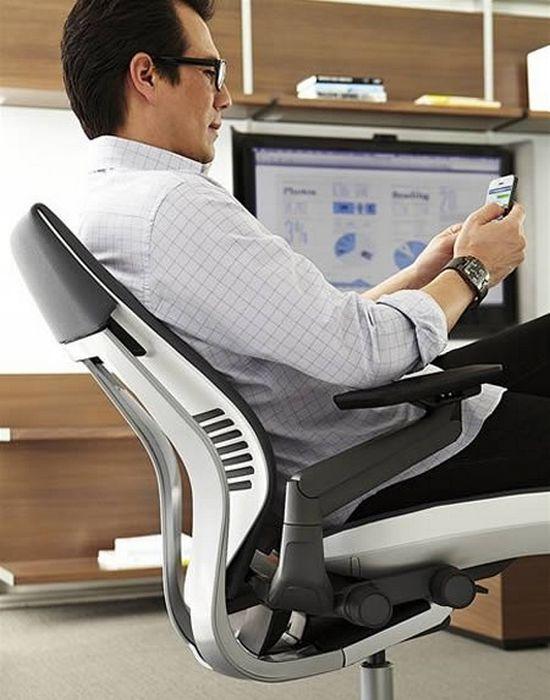 Безумный гаджет: кресло для переписки.