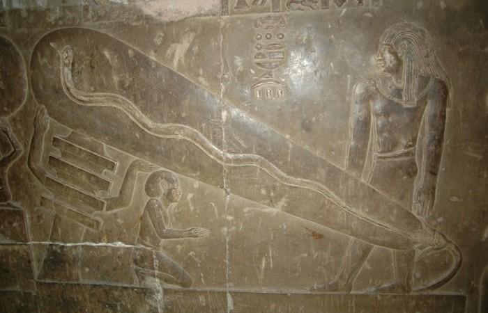 Электролампы в Древнем Египте.