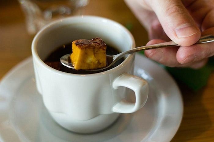 Кофе с сыром и другие невероятные рецепты.