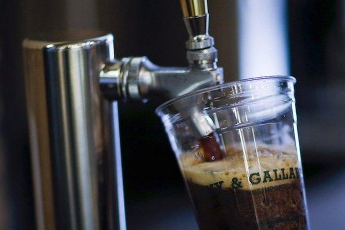 Кофе с азотом.