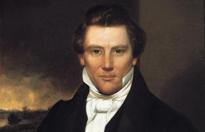 Мормонский пророк Джозеф Смит.