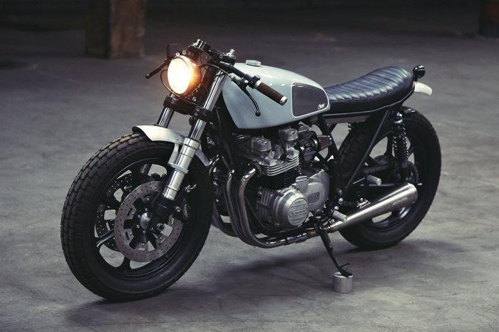 Скромное обаяние Clutch Kawasaki KZ650.
