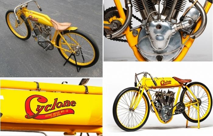 Гоночный мотоцикл Cyclone Board Track.