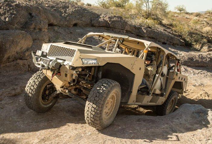 DAGOR - cверхлёгкий боевой автомобиль.