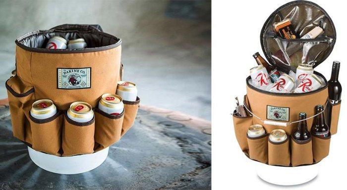 Пивной бочонок-сумка для пикников.