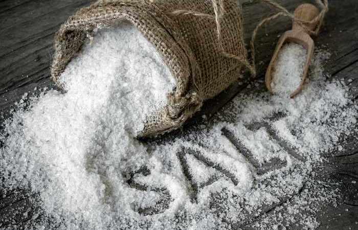 Натуральный продукт соль.
