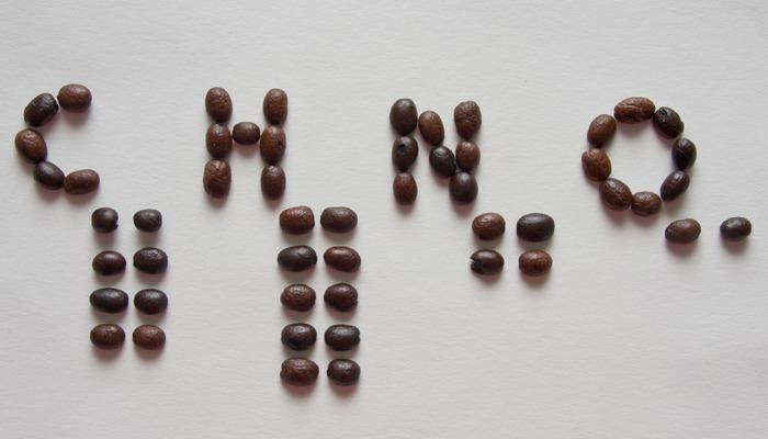 Натуральный продукт кофеин.