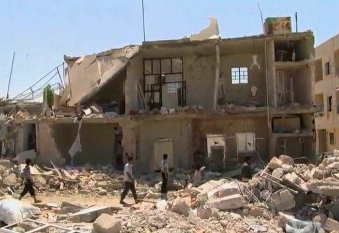 Опасное место: страна Сирия.
