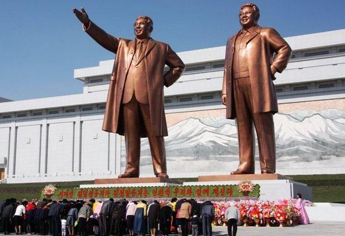 Опасное место: страна Северная Корея.