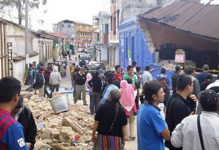 Опасное место: страна Гватемала.