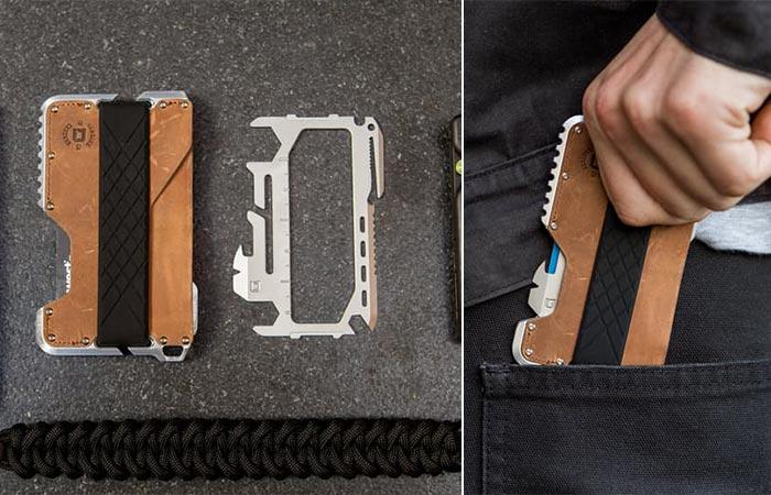 Dango Tactical Wallet - нож, открывашка, линейка.