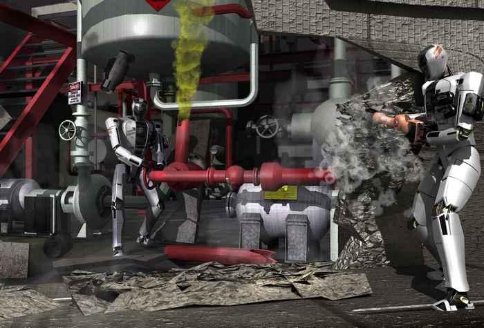 Роботы-спасатели.