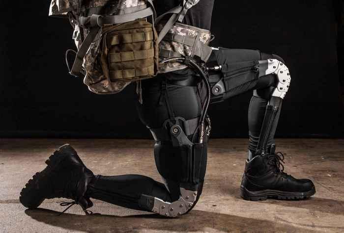 Экзоскелет Warrior Web.
