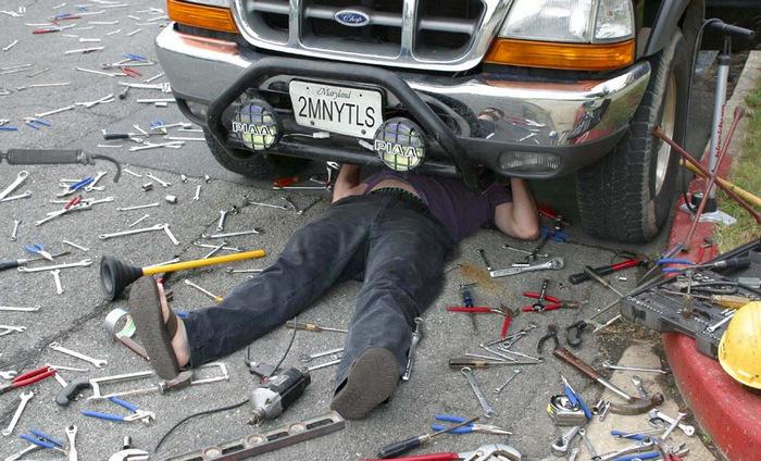 Опять, что-то сломалось. |Фото: drive2.com.