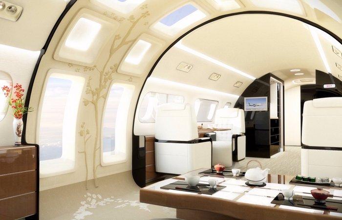 Компания, которая за $ 53 млн делает панорамные люки в частных самолетах.
