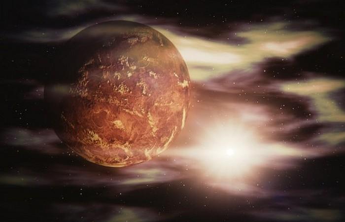 Планета Венера.