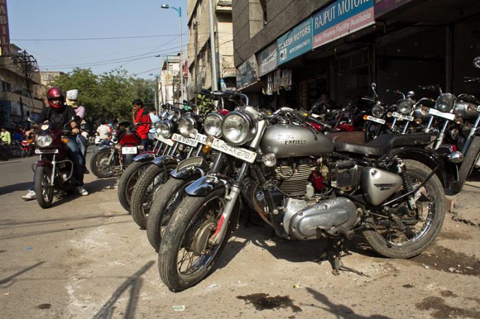 Индия - страна мотоциклов.