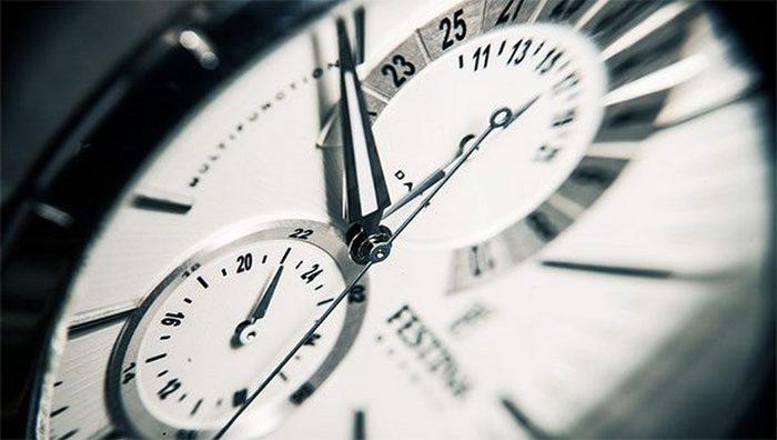 Время — постоянная величина.