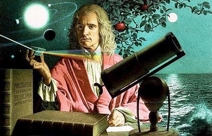 Сэр Исаак Ньютон.