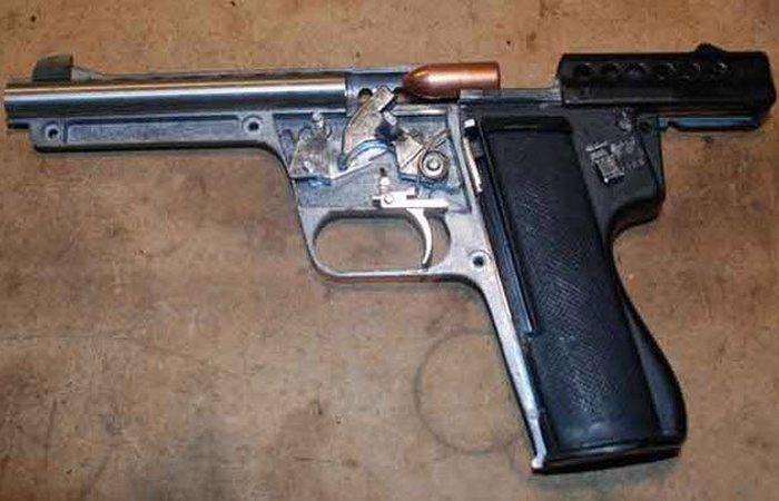 Бредовое оружие: ракетный пистолет Gyrojet.