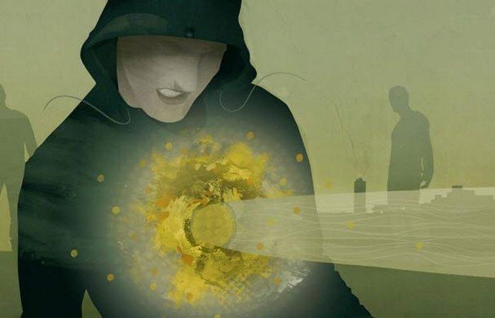Бредовое оружие: лучи боли.