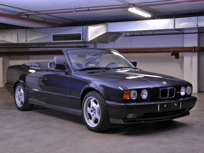 Красавчик BMW M5 Cabrio так и не дошел до конвейера.