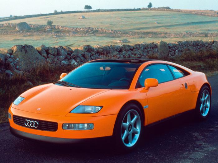 Audi Quattro Spyder мог стать отличным автомобилем, даже слишком.