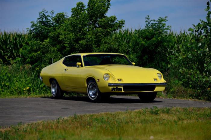 Невероятно стильный Ford Torino King Cobra.