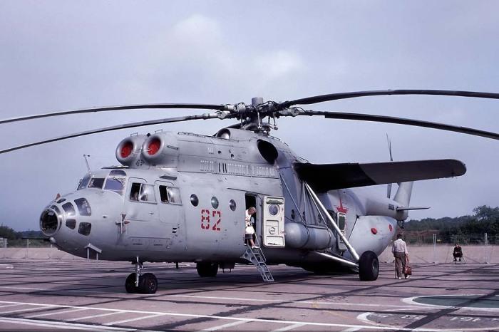 Ми-6 нужен был помощник. |Фото: yaplakal.com.